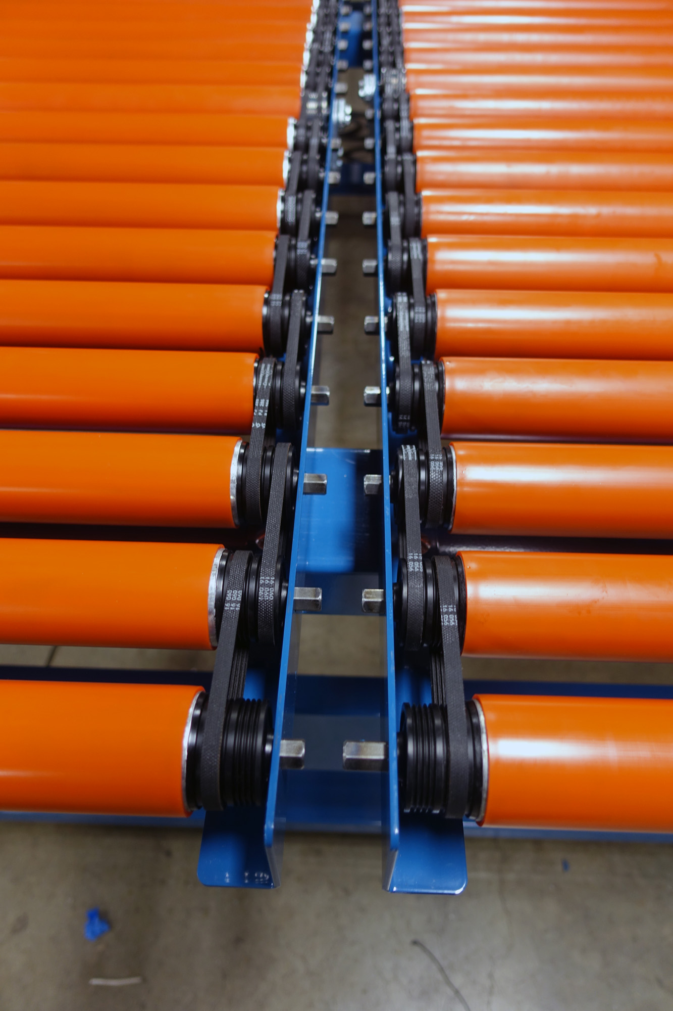 Itoh poly vee drive rollers