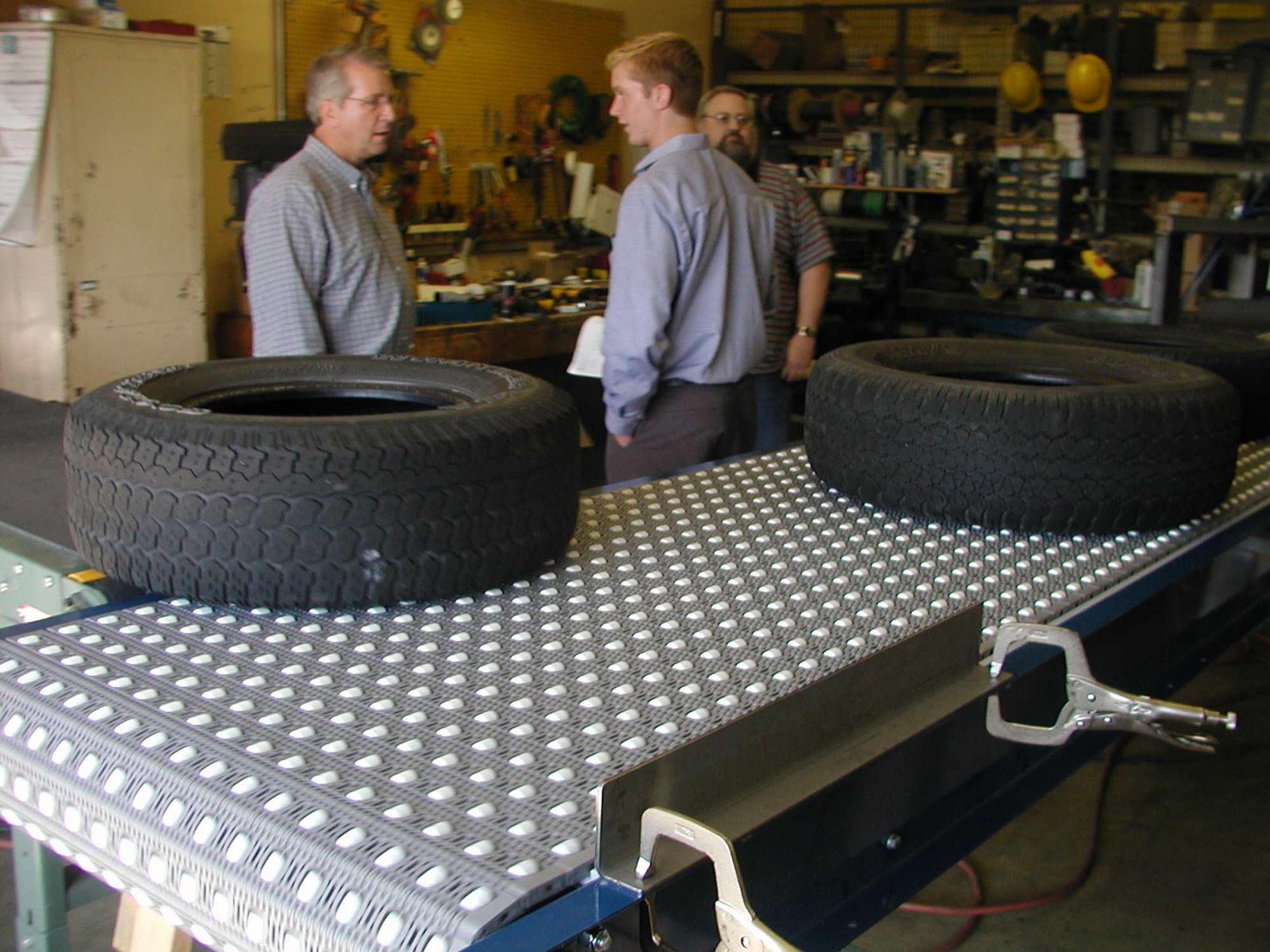 Car tire production