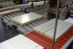 Wood shelving processing