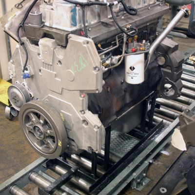 Engine remanufacturing power and free