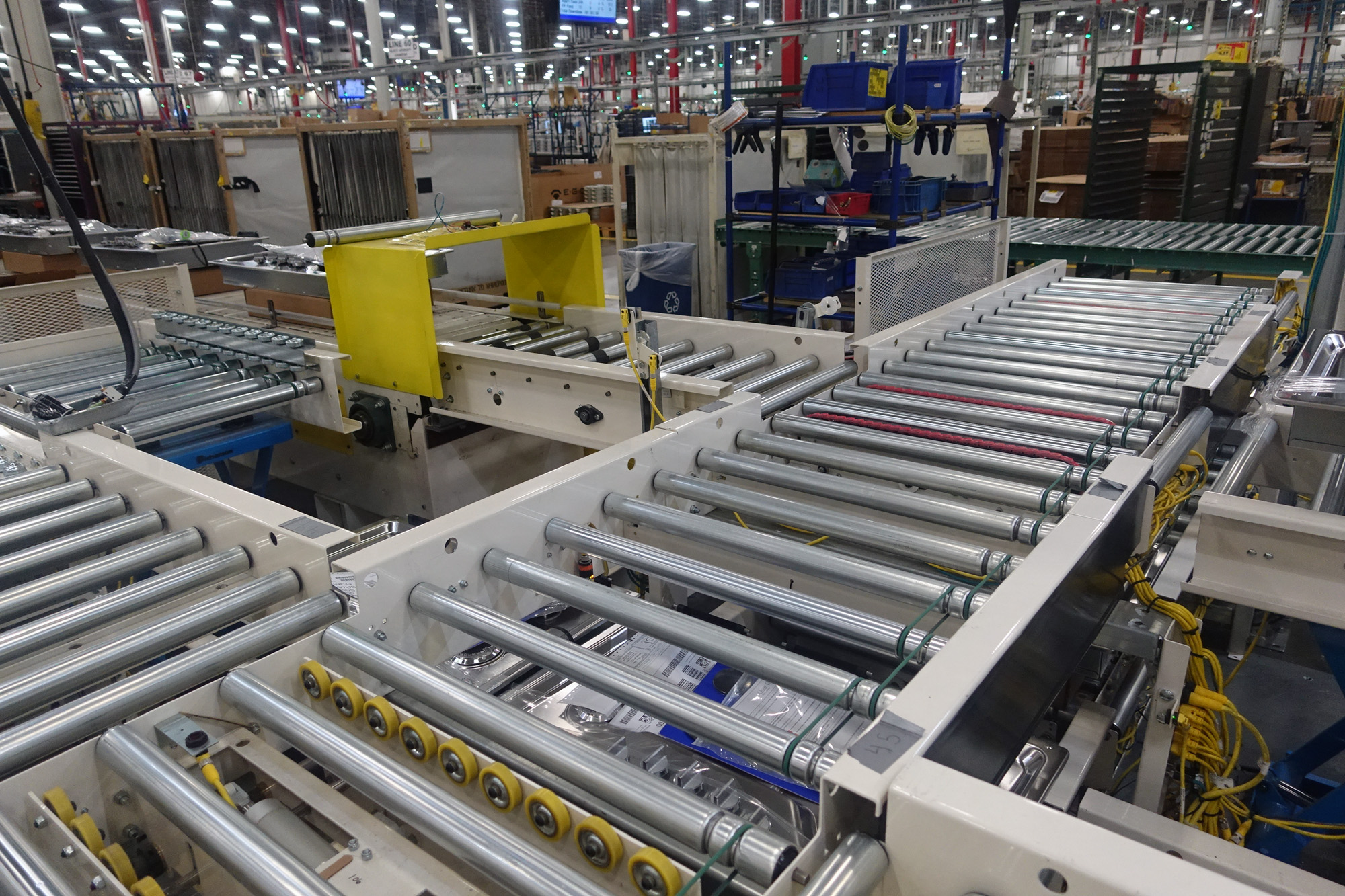 Cook top slat assembly, test and packing