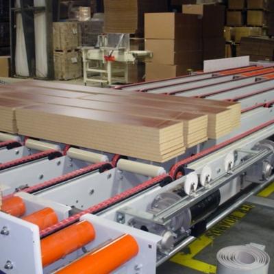 Wood shelving processing