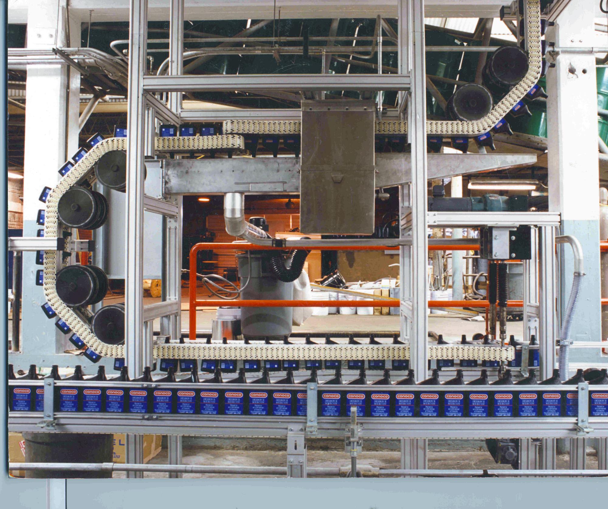 Motor oil filling